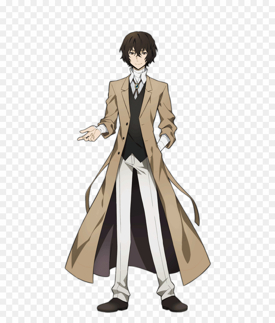 Bungou stray dogs clipart clip royalty free stock Dazai Bungou Stray Dogs PNG Bungo Stray Dogs Anime Clipart download ... clip royalty free stock