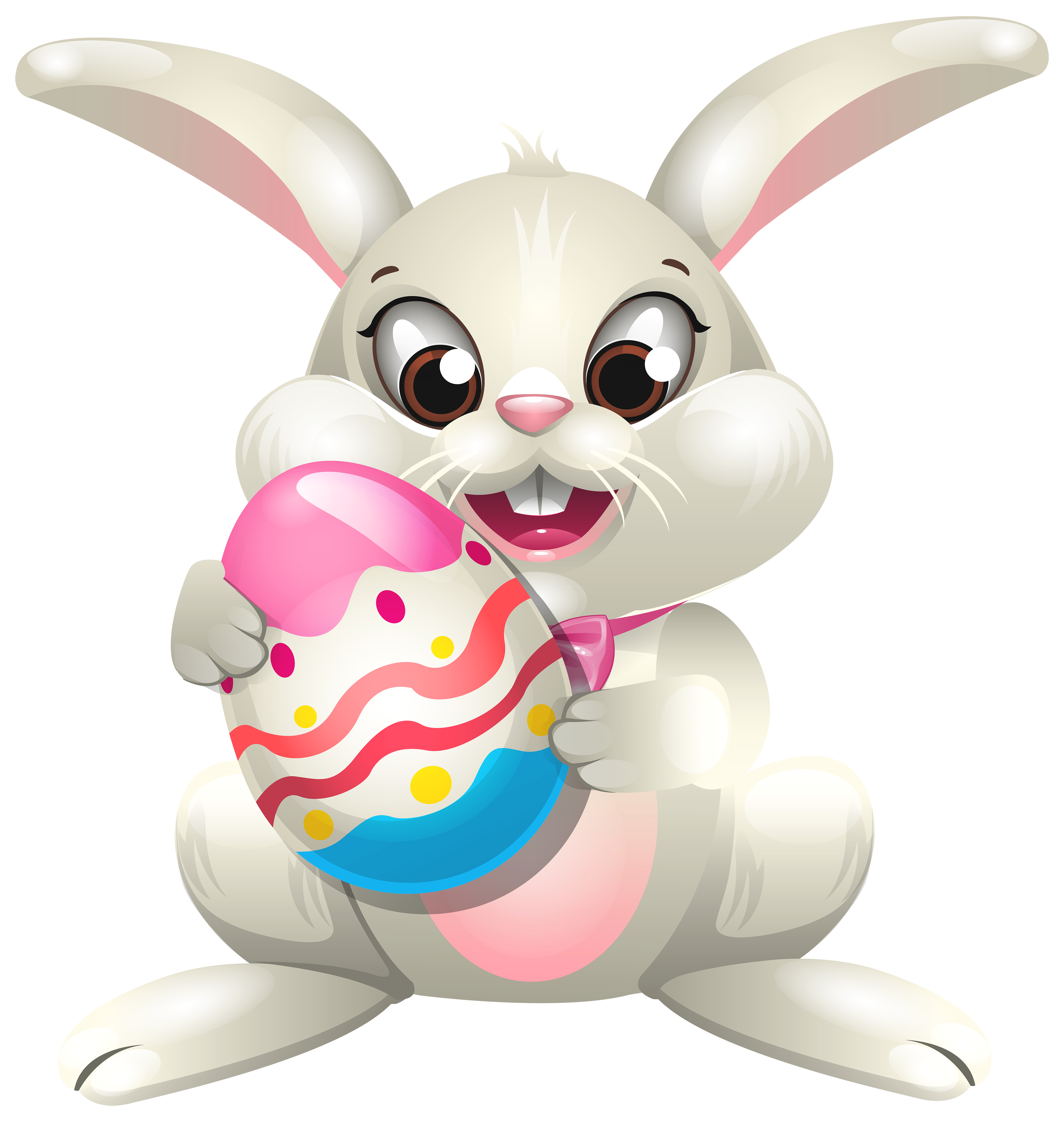 Bunny clipart png clipart transparent download Easter Bunny whit Egg PNG Clip Art - Best WEB Clipart clipart transparent download