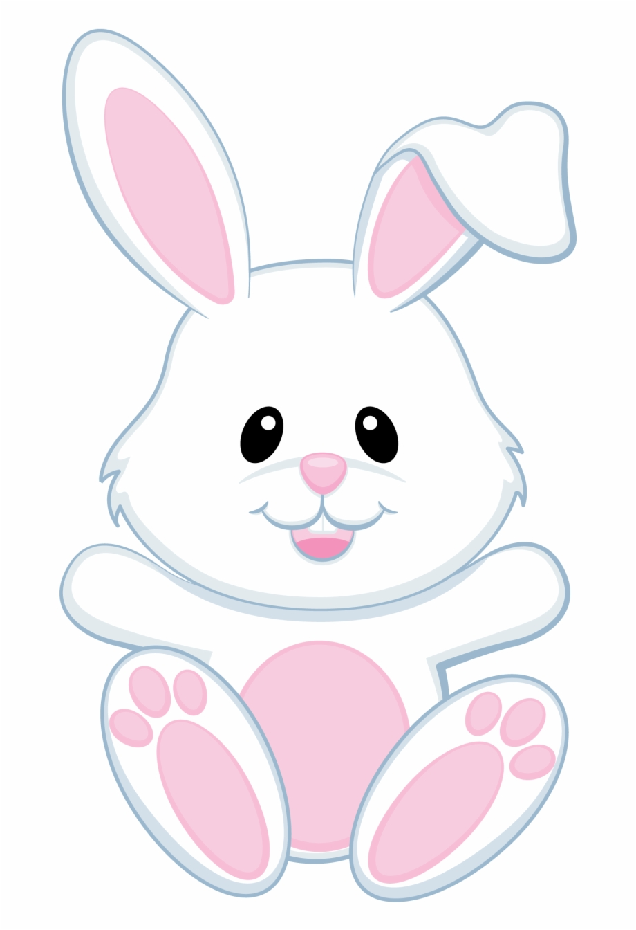 Bunny clipart png clip art freeuse library Bunnies Clipart Modern - Transparent Background Easter Bunny Clipart ... clip art freeuse library