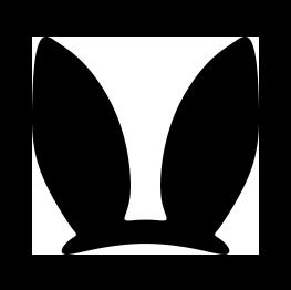 Bunny ears bow tie clipart clip art royalty free library Easter Bunny Ears Silhouette | Cricut-Easter | Easter bunny ears ... clip art royalty free library