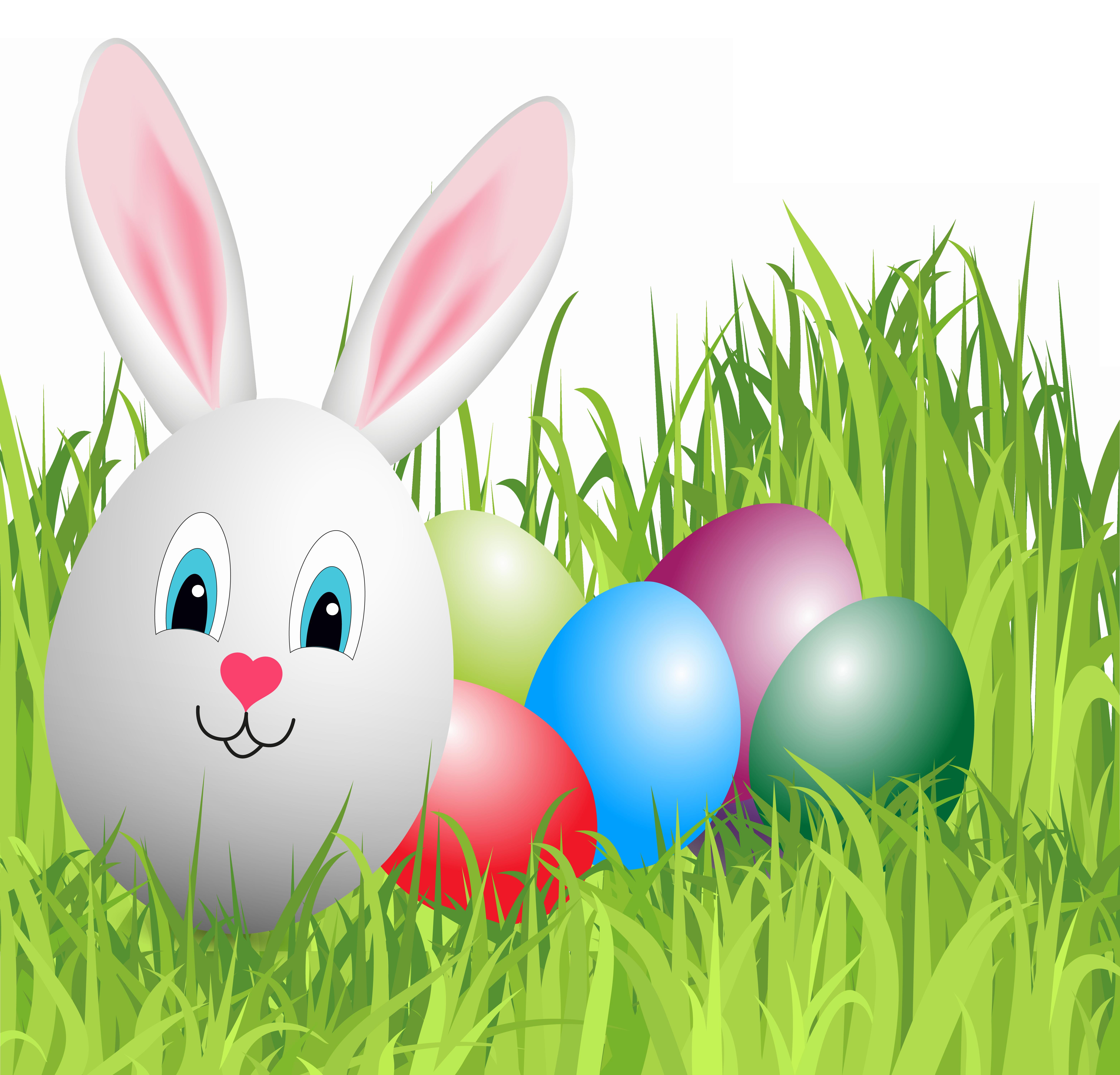 Bunny egg clipart jpg transparent Easter Grass with Bunny Egg PNG Clipart Image | Gallery ... jpg transparent