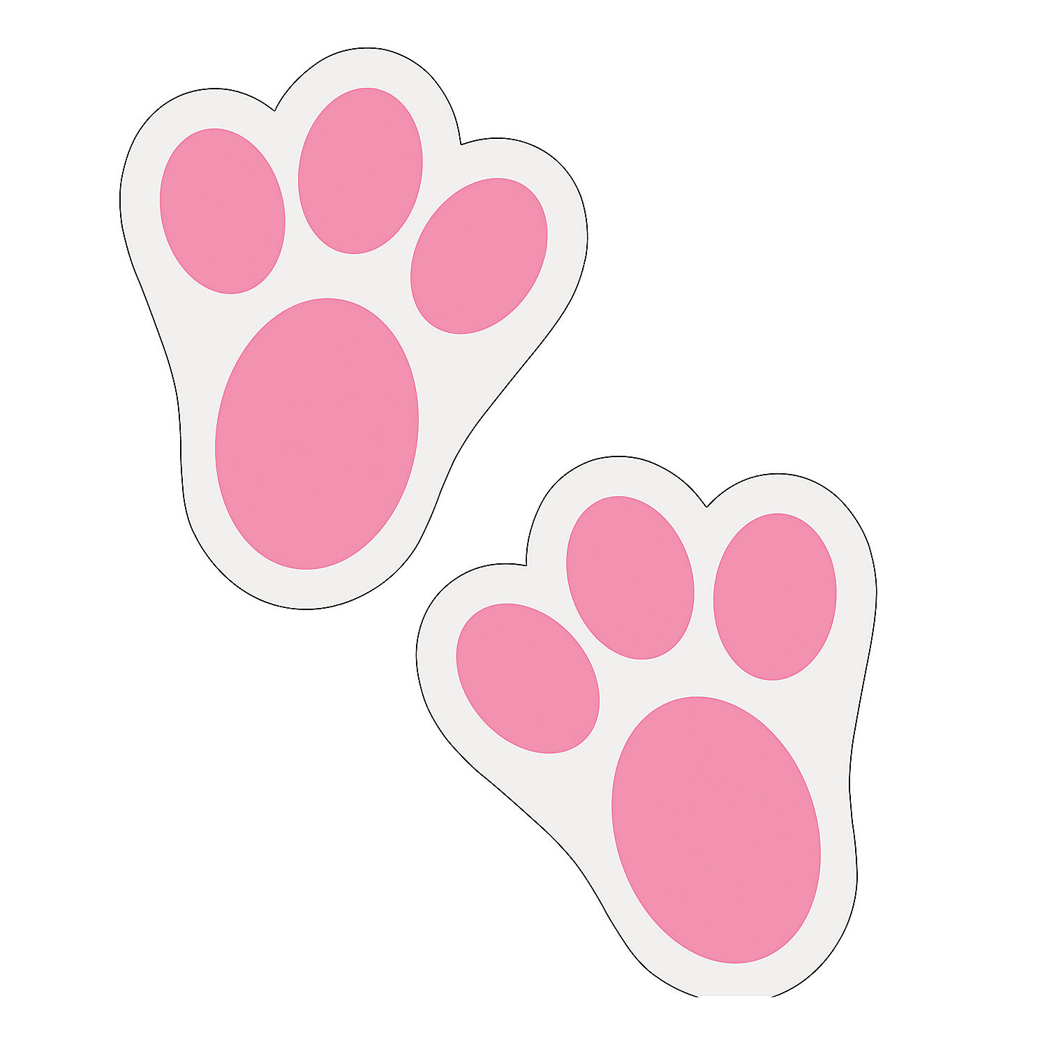 Free Bunny Footprints Cliparts, Download Free Clip Art, Free Clip ... banner royalty free stock
