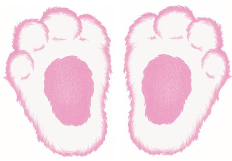 Bunny feet clipart picture royalty free download Free Bunny Footprints Cliparts, Download Free Clip Art, Free Clip ... picture royalty free download
