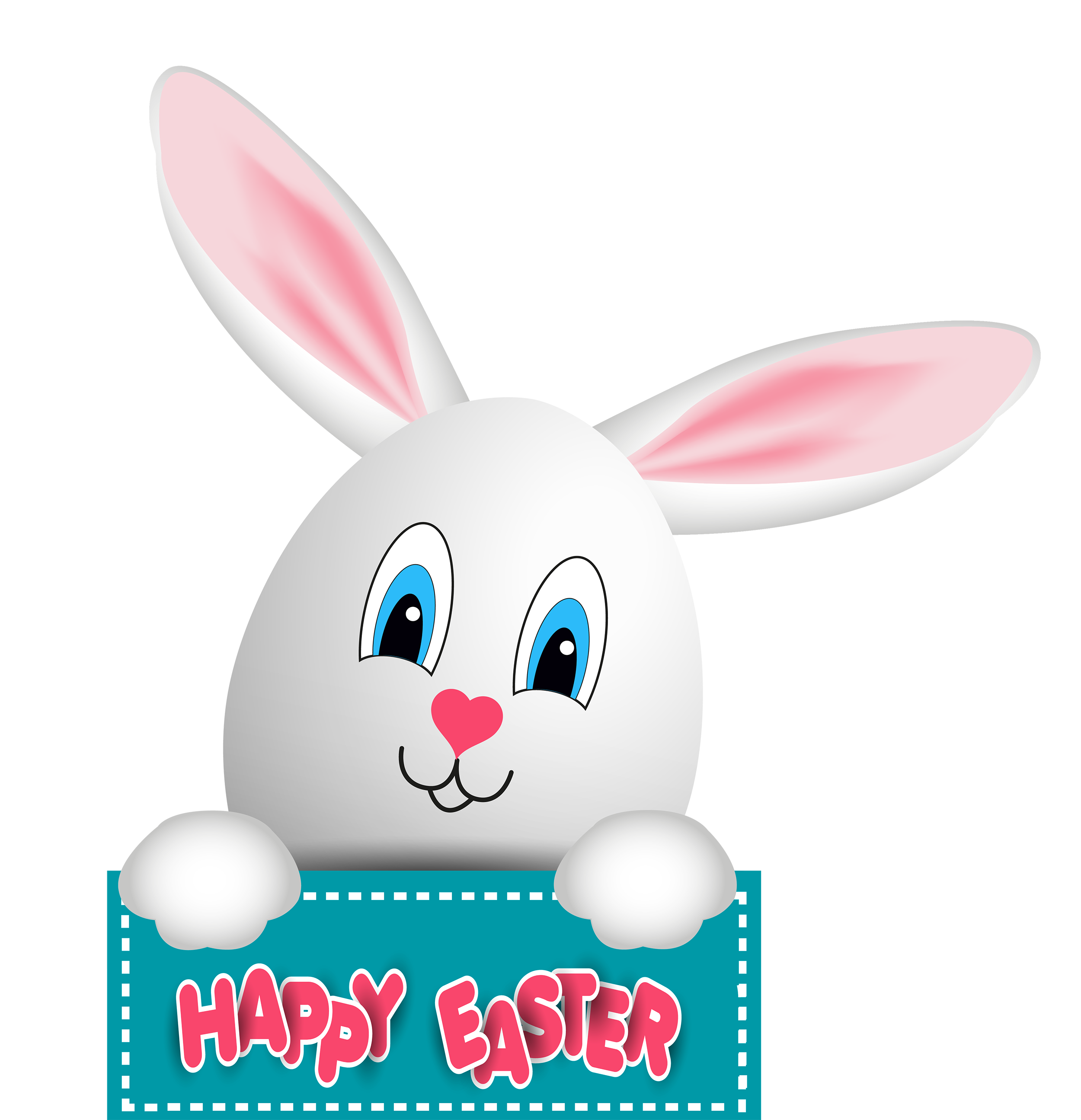 Bunny flower clipart clipart free library Easter Bunny PNG Clip Art - Best WEB Clipart clipart free library