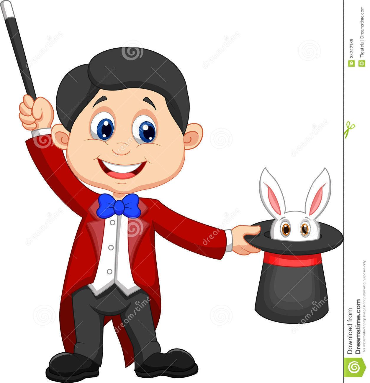 Bunny in top hat clipart free jpg banner A Magician Holding A Top Hat With A Rabbit In It Stock Photos ... banner