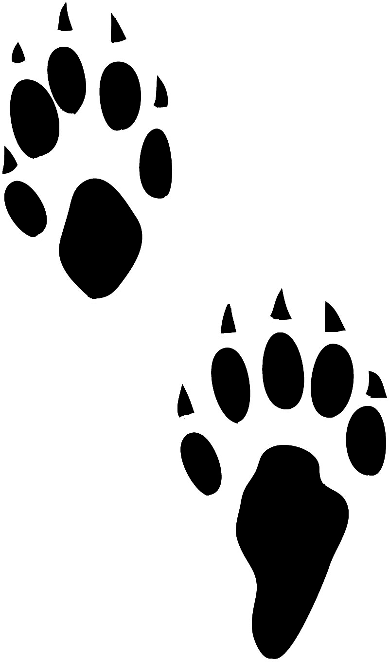 Free Bunny Footprints Cliparts, Download Free Clip Art, Free Clip ... svg black and white download