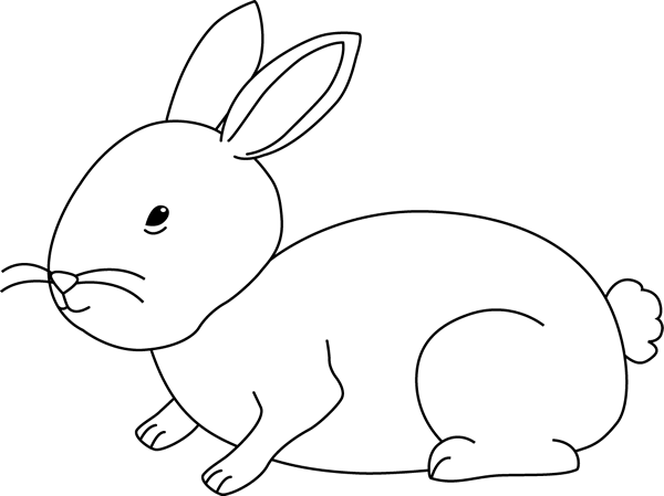 Bunny rabbit clipart black and white clip transparent Free Black And White Bunny Pictures, Download Free Clip Art, Free ... clip transparent