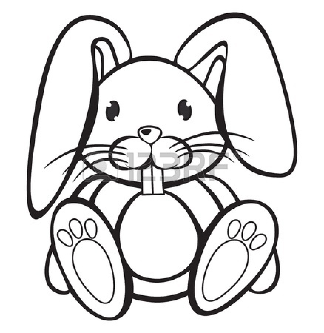 Bunny rabbit clipart black and white black and white download Rabbit Black And White Clipart | Free download best Rabbit Black And ... black and white download