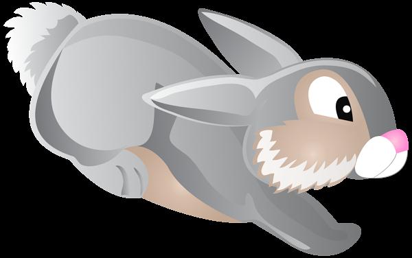 Bunny tail clipart transparent svg transparent download Jumping Bunny Cartoon Transparent Clip Art PNG Image svg transparent download