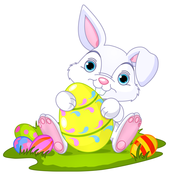 Bunny with eggs clipart clipart free Easter Bunny With Eggs Clipart – HD Easter Images clipart free