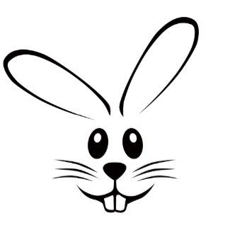 Kids face eyes and nose black and white clipart clip black and white download Clipart Bunny Face bunny face clipart - clipart kid | Ideas for the ... clip black and white download