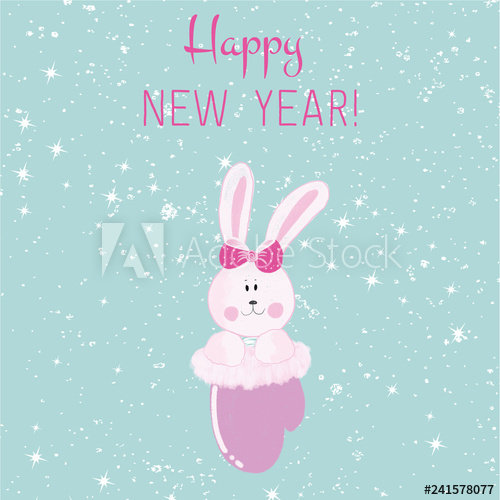 Bunny with sunglasses clipart png freeuse library Winter, Rabbit, Printable card, 2019, Cartoon, Clipart, Snow ... png freeuse library
