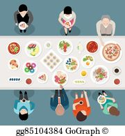 Bunquetr clipart picture freeuse Banquet Clip Art - Royalty Free - GoGraph picture freeuse