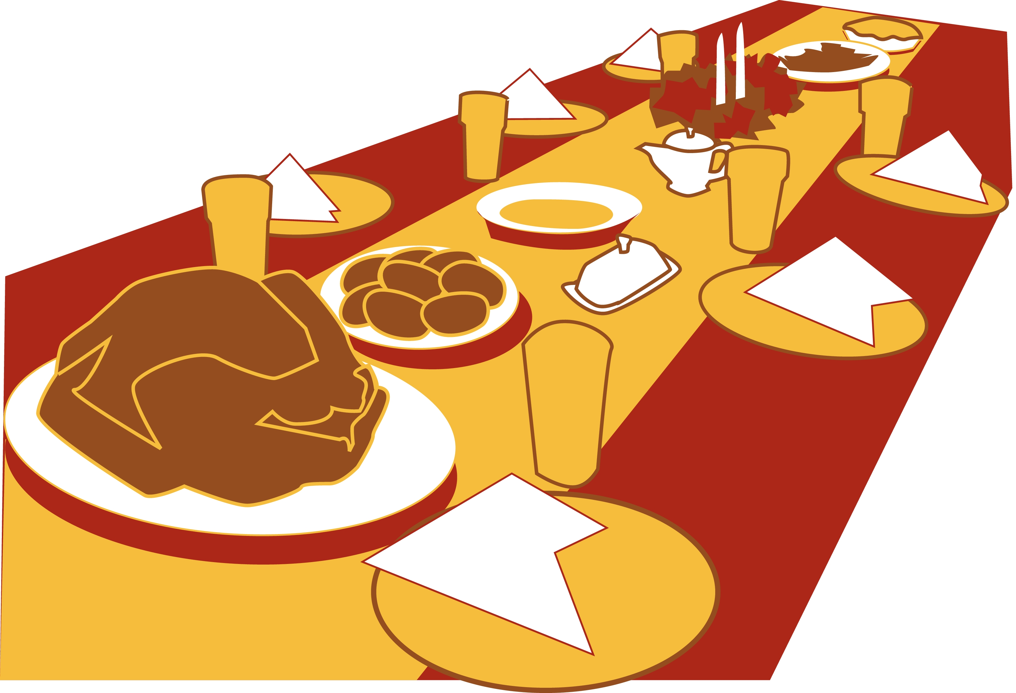 Feasts clipart png library Banquet Cliparts - Cliparts Zone png library