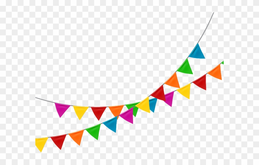 Bunting image clipart graphic free download Bunting Clipart Clear Background - Bunting Flags Transparent ... graphic free download