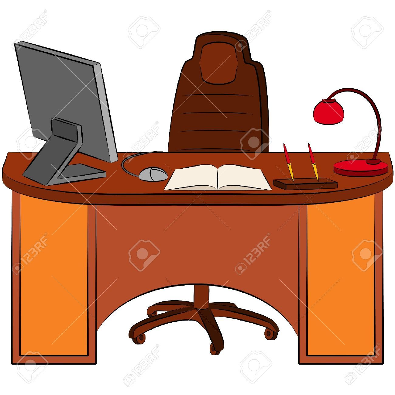 Desk clipart images svg royalty free library Office Desk Clipart | Free download best Office Desk Clipart on ... svg royalty free library