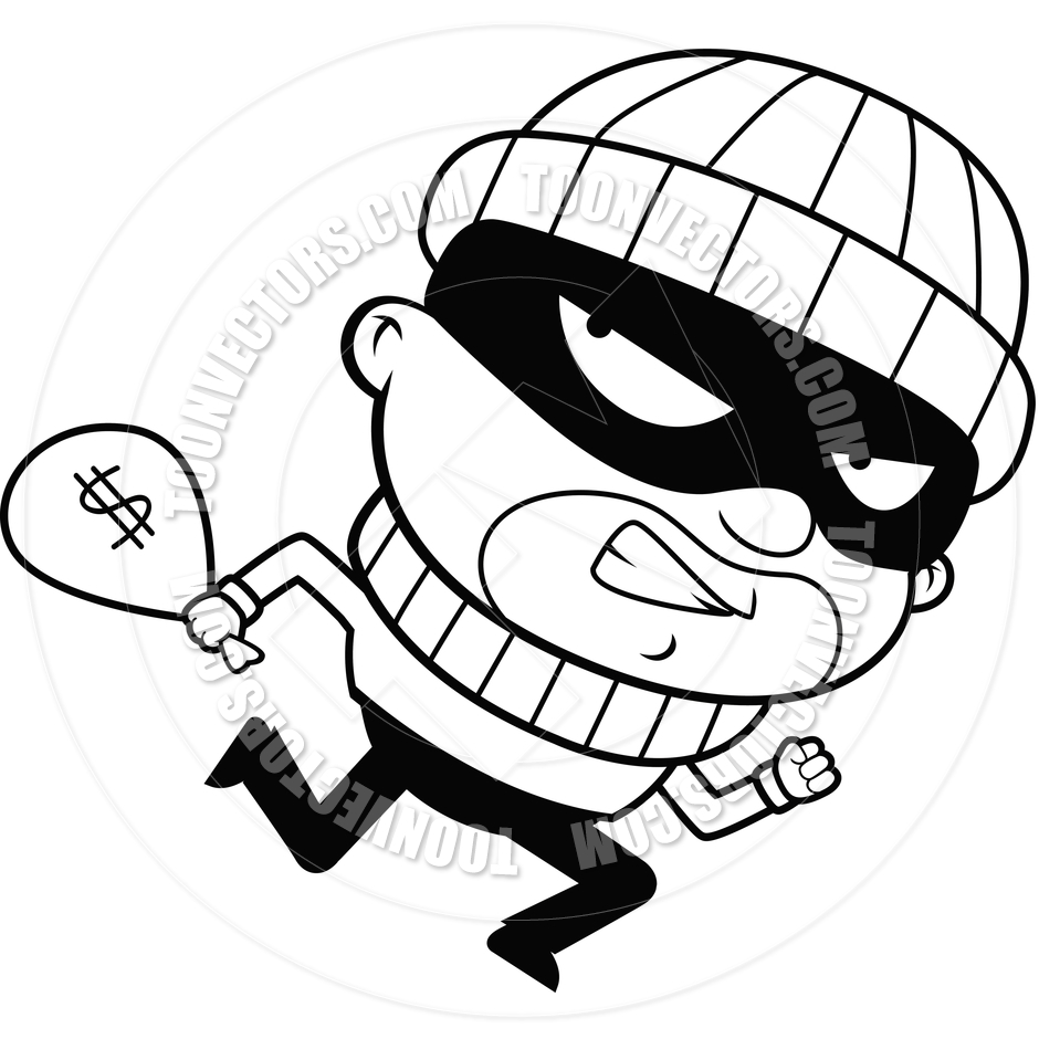 Burgaler clipart graphic black and white 40+ Burglar Clipart | ClipartLook graphic black and white