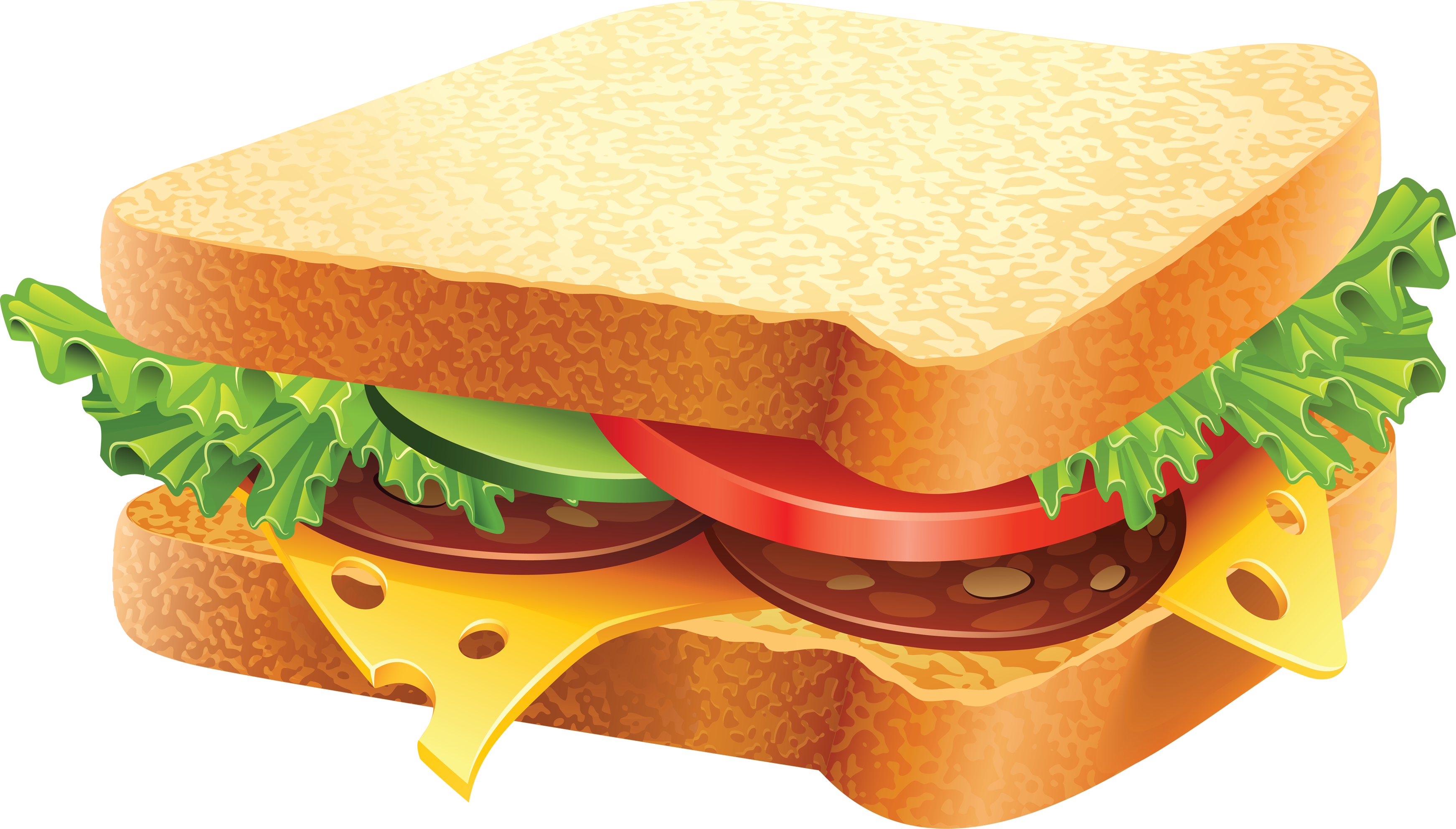 Sandwhich clipart banner Burger and sandwich HD PNG - Picpng banner