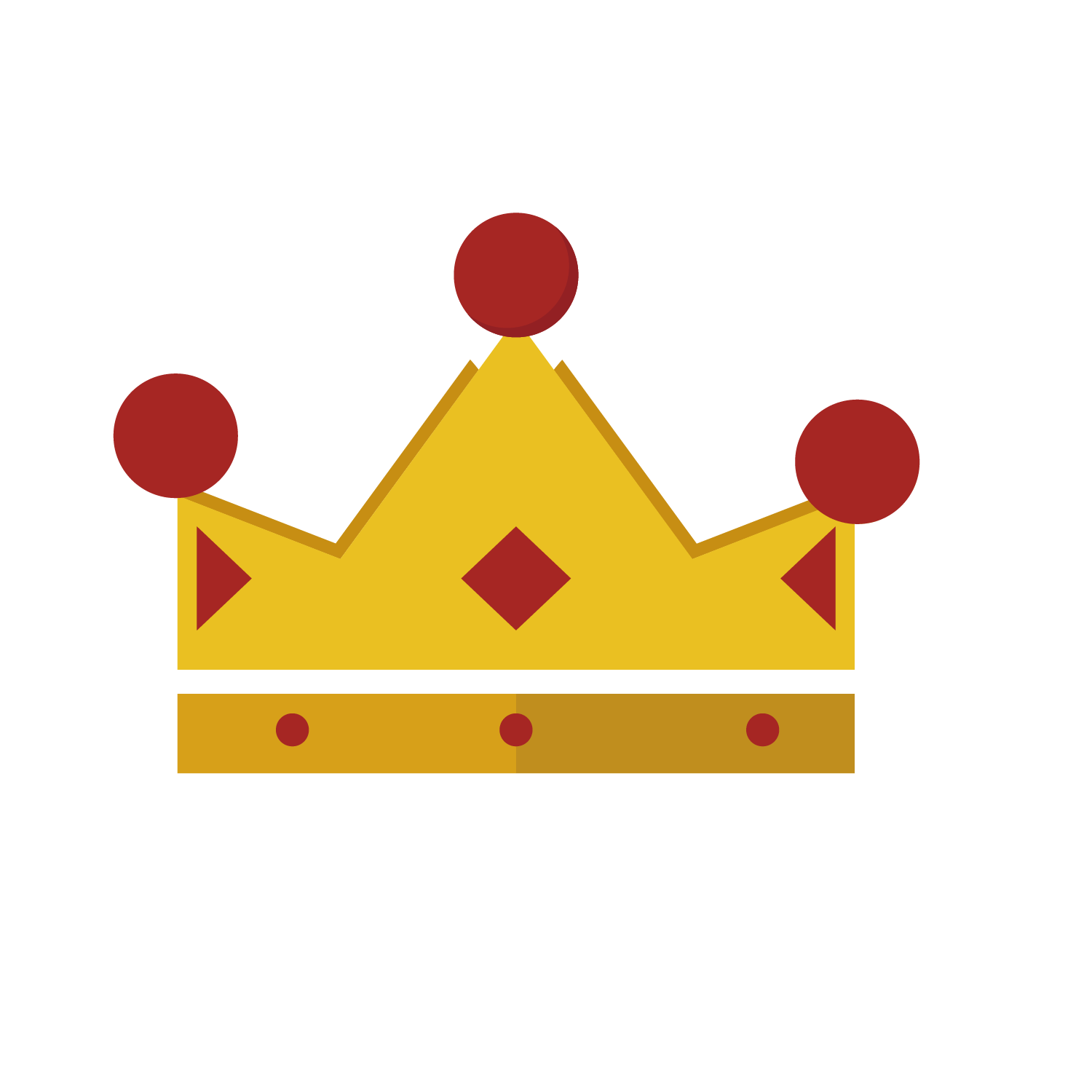 Burger king crown clipart clip free stock Crown Coroa Vermelha Red Clip art - Red Diamond Crown 1500*1500 ... clip free stock