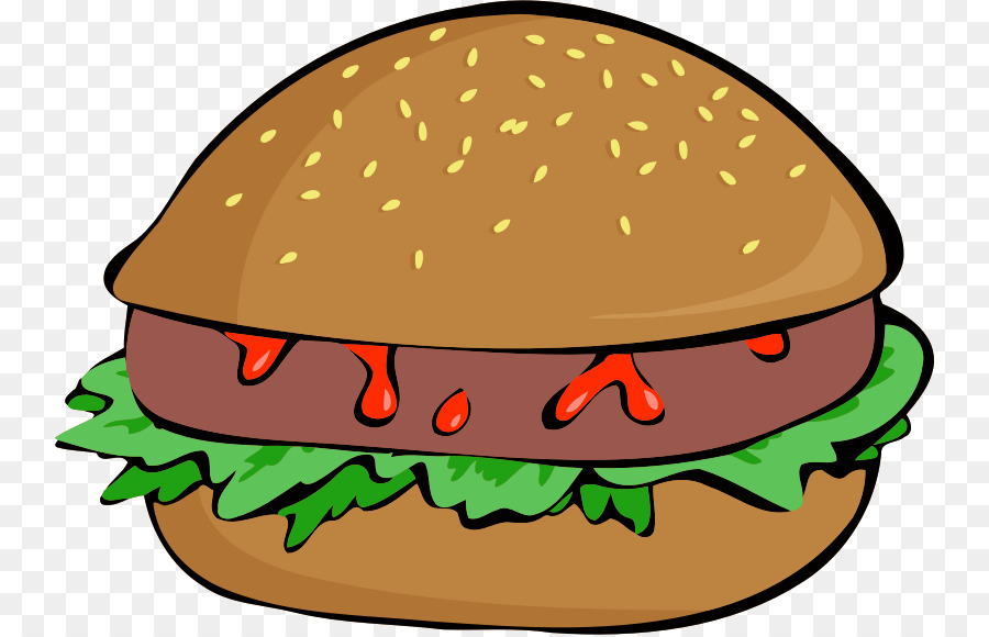 Burger pictures clipart graphic free library Burger Cartoon clipart - Hamburger, Food, Sandwich, transparent clip art graphic free library