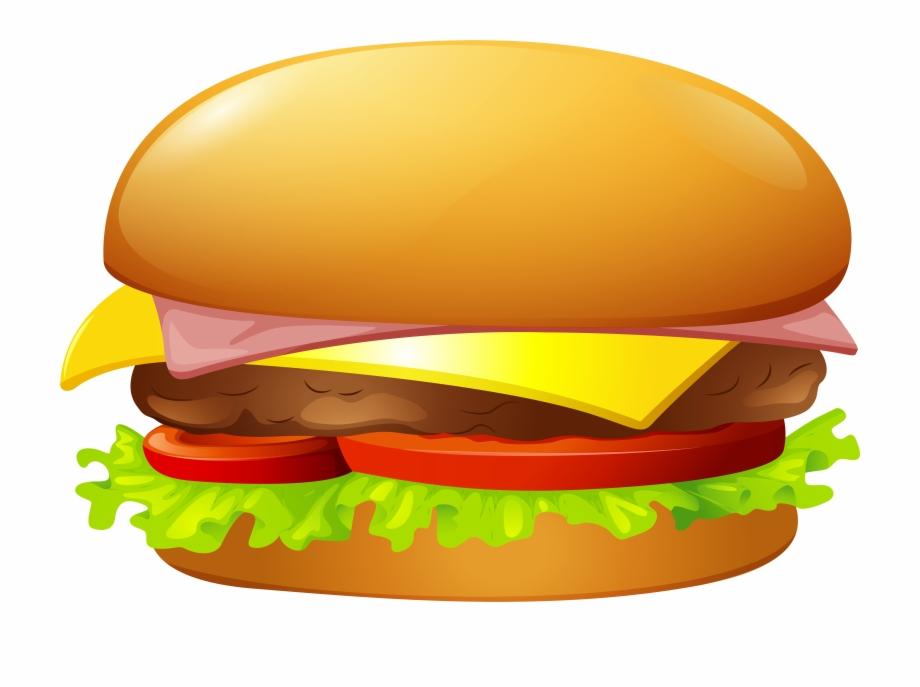 Burger pictures clipart jpg transparent library Hamburger Clip Art Web Clipart - Transparent Background Burger ... jpg transparent library