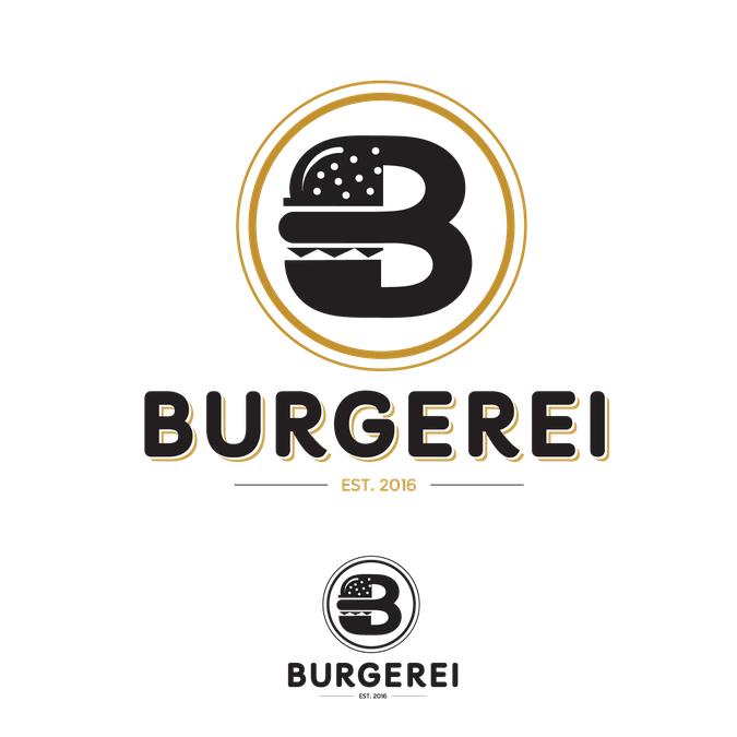 Burger with crown clipart banner transparent library Burger Logo by thepractice | Food|Vi | Pinterest | Burgers, Logos ... banner transparent library