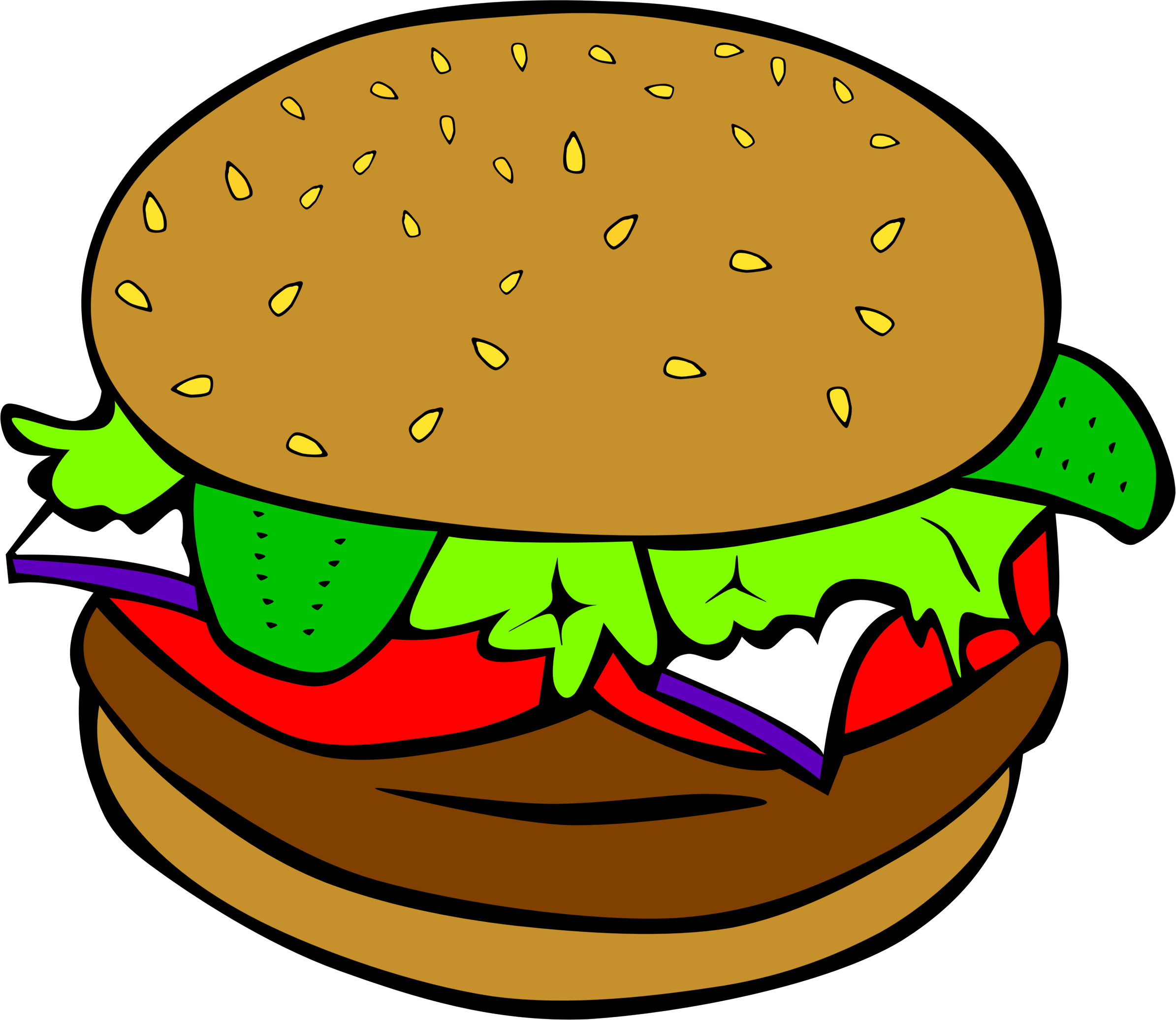 Burger with crown clipart jpg free 28+ Collection of Burger Clipart Transparent | High quality, free ... jpg free