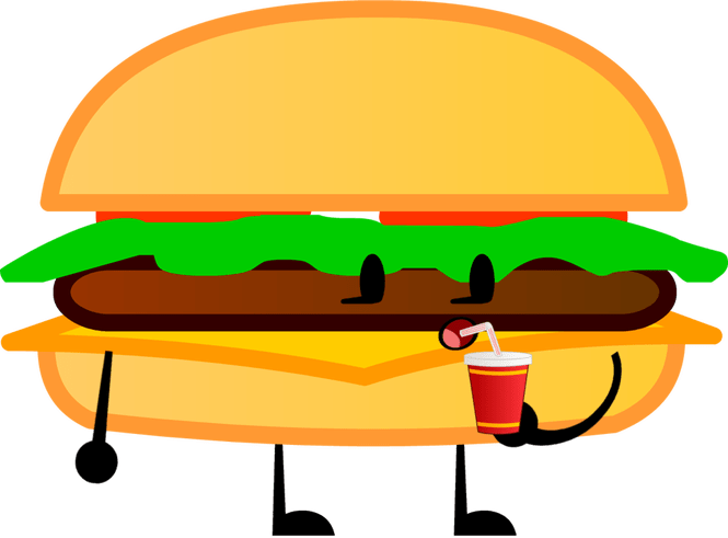 Burger with crown clipart freeuse stock American Burger Cartoon Images - The Best Burger In 2018 freeuse stock