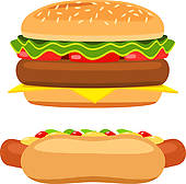 Hot dogs and hamburgers clipart royalty free Free Hamburger Hotdog Cliparts, Download Free Clip Art, Free Clip ... royalty free