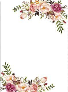Burgundy floral borders cliparts clip library download Floral Border Clipart | wine bottles in 2019 | Invitation background ... clip library download