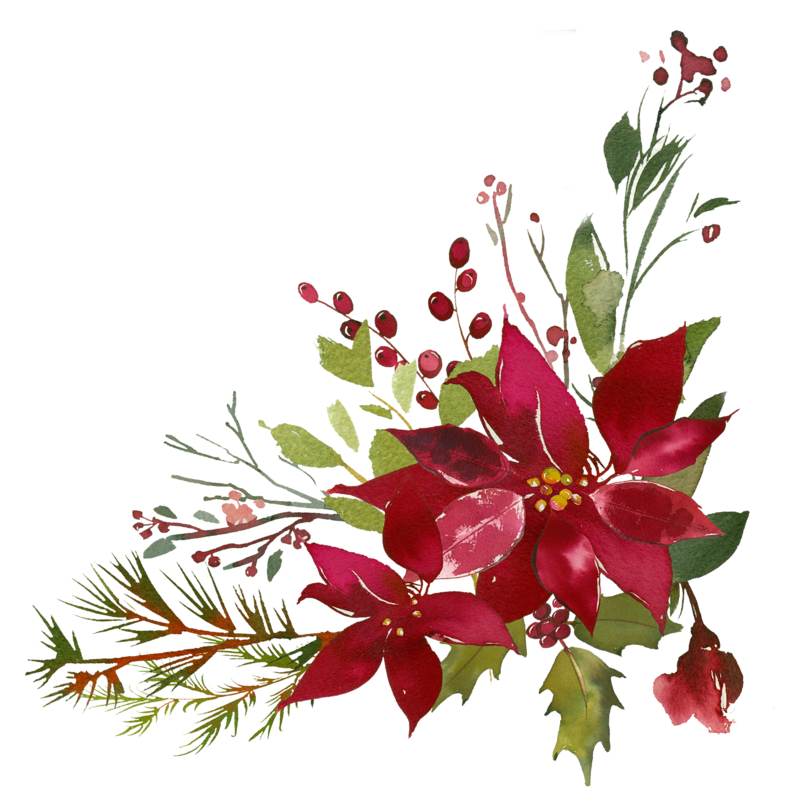 Burgundy flower clipart vector freeuse bouquet-5.png | Pinterest | Poinsettia, Cross stitching and Joyful vector freeuse