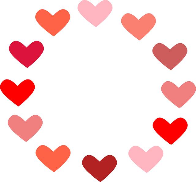 Burgundy heart clipart free download Image gratuite sur Pixabay - Coeur, Cercle, L'Amour   Pinterest free download