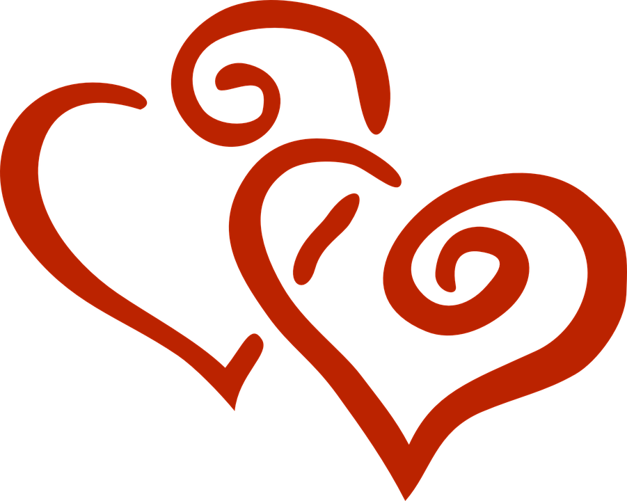 Interlocking heart clipart clipart transparent library Intertwined Hearts Group (77+) clipart transparent library