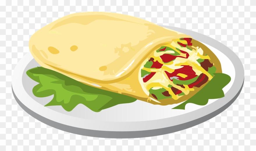 Buritos clipart clip library library Burrito - Burrito Clipart Png Transparent Png (#773119) - PinClipart clip library library