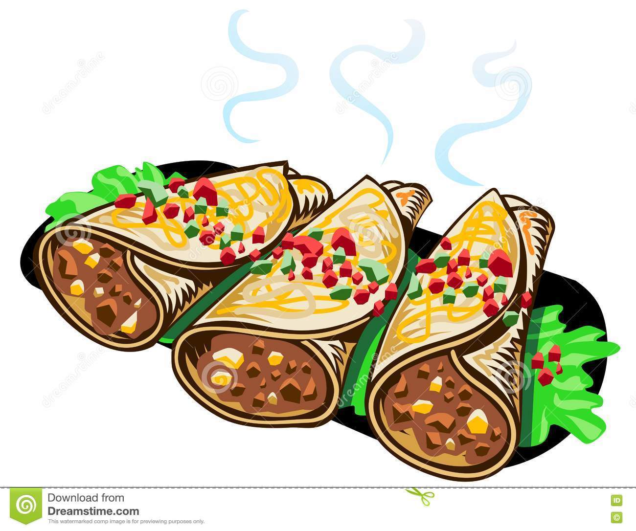 Buritos clipart image library download Burritos clipart 5 » Clipart Portal image library download
