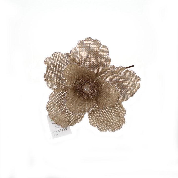 Burlap and flowers clipart clip transparent download Christmas flower stems picks clip transparent download