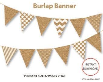 Burlap flag banner clipart clipart library download Rustic Flag Banner Clip Art | theveliger clipart library download