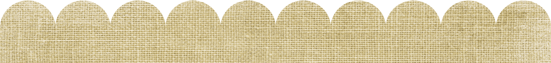 Burlap heart clipart png download Scalloped Border Templates in Any Color | Free Download png download