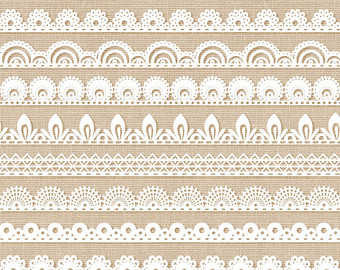 Burlap lace clipart black and white border clip art freeuse Free Brown Lace Cliparts, Download Free Clip Art, Free Clip Art on ... clip art freeuse