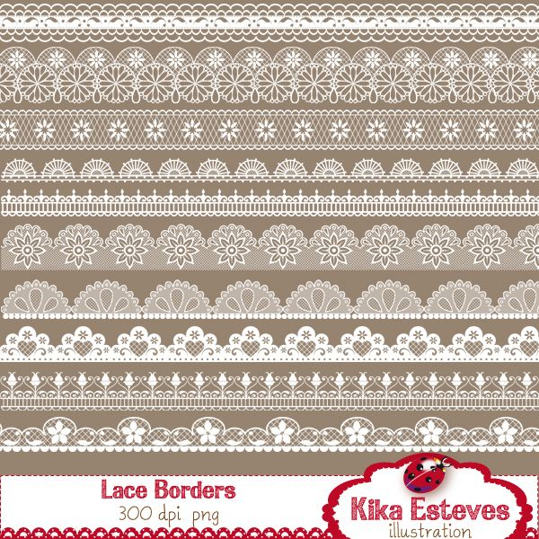 Burlap lace clipart black and white border picture freeuse stock Pin by Mygrafico Digitals on Mygrafico Illustrations & Cliparts ... picture freeuse stock