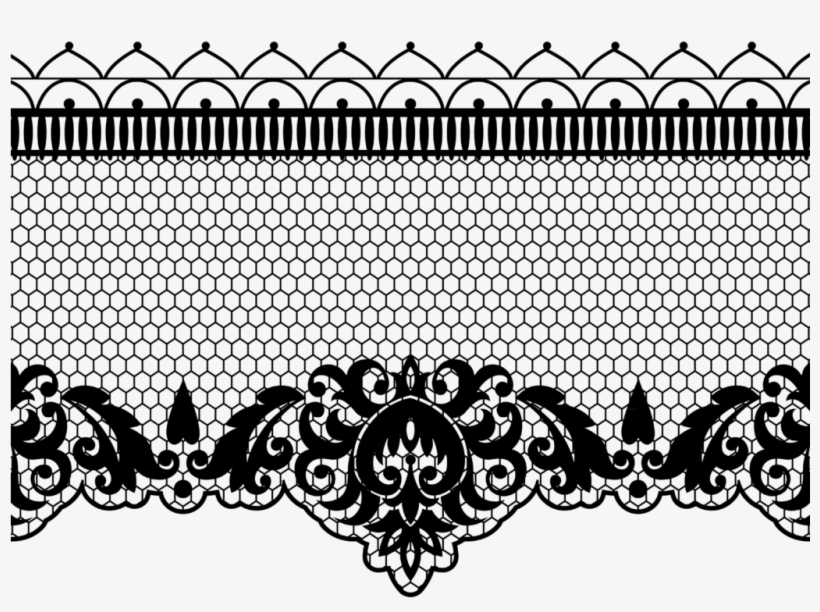 Burlap lace clipart black and white border clip art royalty free stock Download Lace Transparent Background - Vintage Wedding Border ... clip art royalty free stock