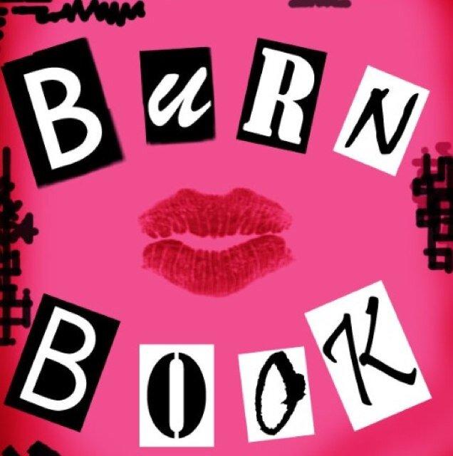 Burn book clipart clip free seneca burnbook (@senecaburnbook) | Twitter clip free