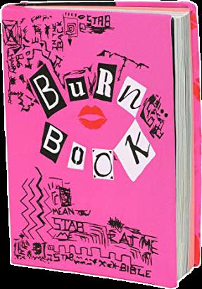 Burn book clipart banner black and white download HD Burnbook Image - Burn Book Makeup Brushes , Free Unlimited ... banner black and white download
