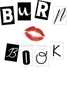 Burn book clipart banner royalty free library 9 Best Mean Girls Burn Book images in 2018 | Mean girls burn book ... banner royalty free library