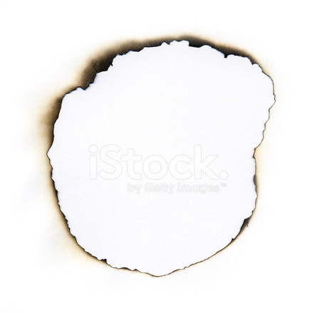Burn hole clipart picture royalty free library White Paper With Fire Damaged Burned Hole Border Stock Photos ... picture royalty free library