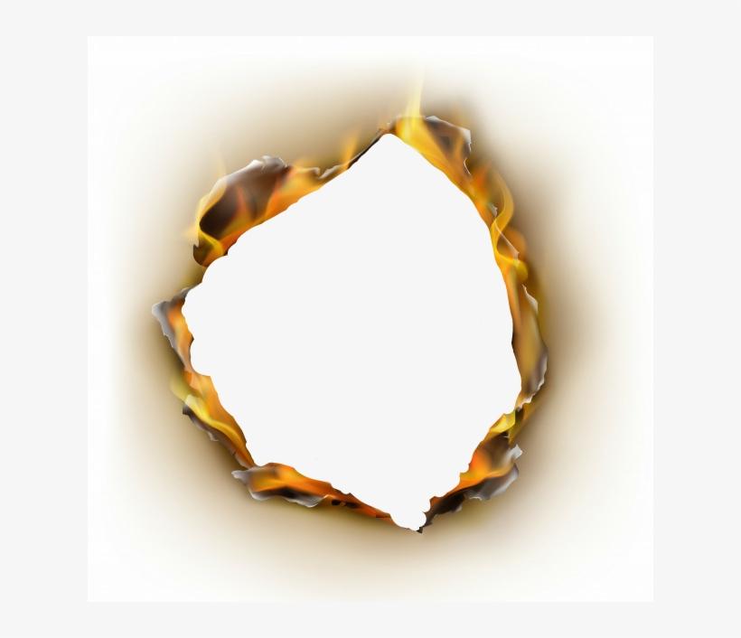 Burn hole clipart