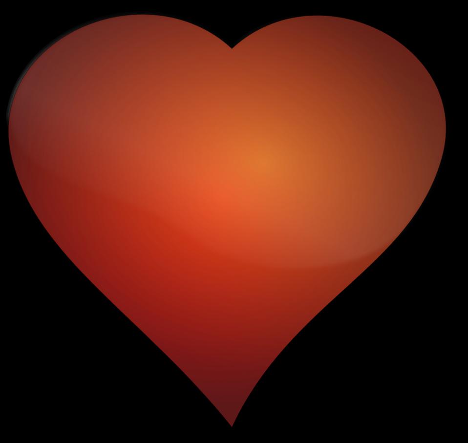 Burning heart clipart jpg freeuse Public Domain Clip Art Image | Illustration of a heart | ID ... jpg freeuse