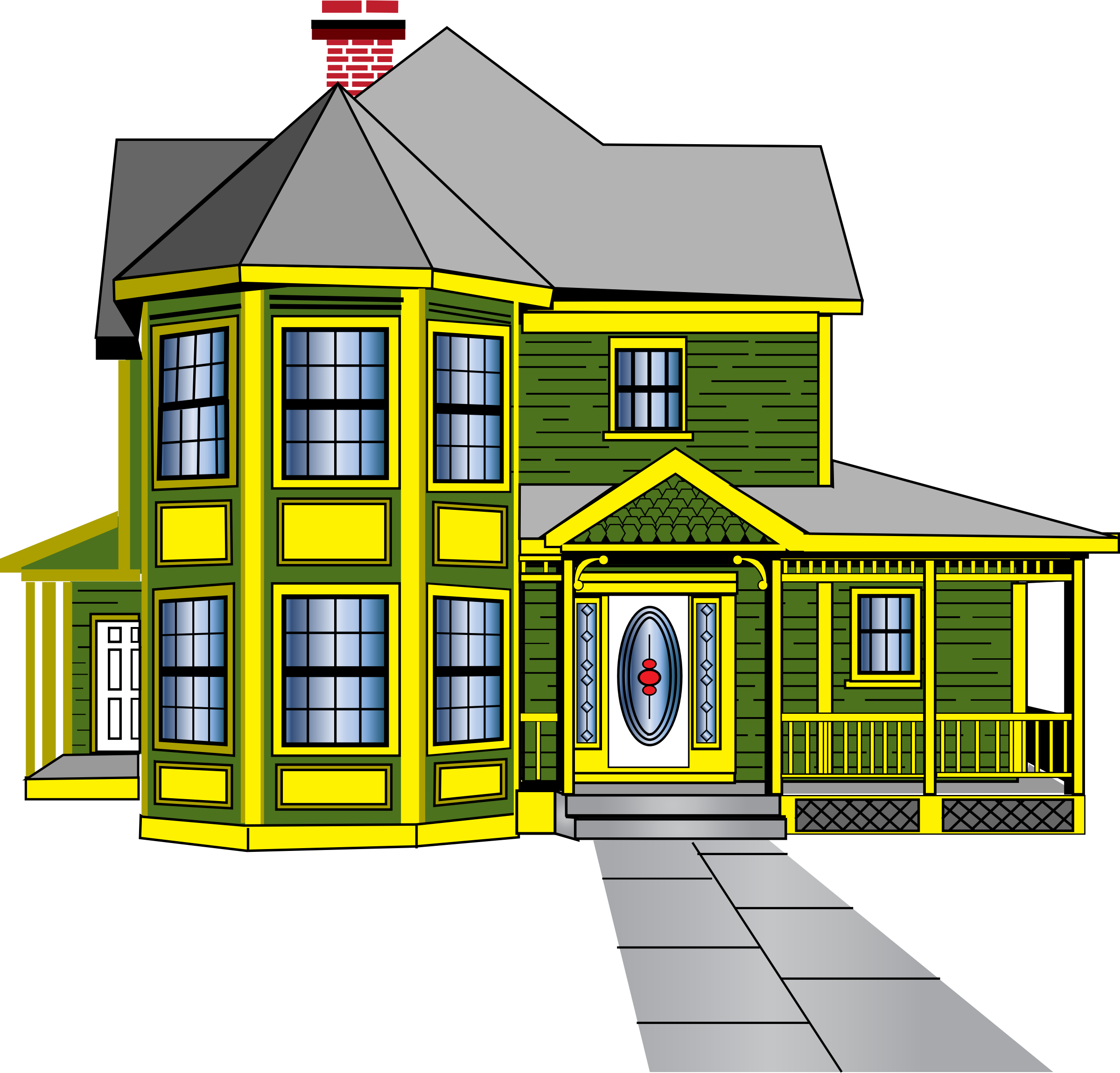 Dream house clipart