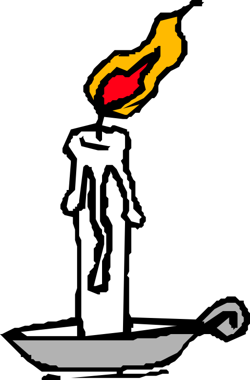 Burning house clipart clip transparent Burning Candle Clipart | i2Clipart - Royalty Free Public Domain Clipart clip transparent