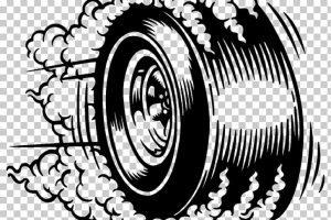 Burning rubber clipart graphic transparent Tire burning rubber » Clipart Portal graphic transparent